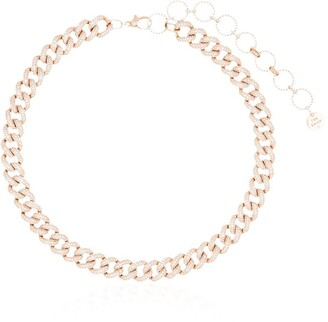 Shay 18kt Yellow Gold Diamond Chunky Chain Necklace