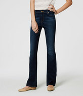 LOFT Modern Boot Cut Jeans in Pure Dark Indigo