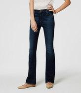 LOFT Modern Boot Cut Jeans in Pure Dark Indigo