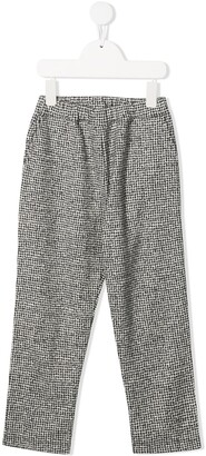 Douuod Kids Casual Printed Trousers