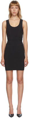 Alexander Wang Black Bodycon Short Dress