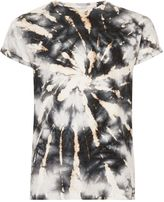 Topman Black Blow Out Muscle Fit Roller T-Shirt
