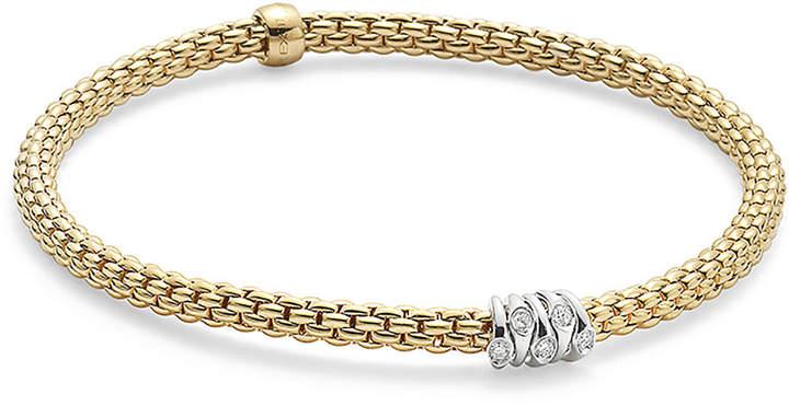 b121da2291147 18ct Yellow Gold Flex'it Prima Bracelet