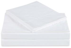 Charisma Ultra Cotton Sateen 610 Thread Count 4-Pc. Solid California King Sheet Set Bedding