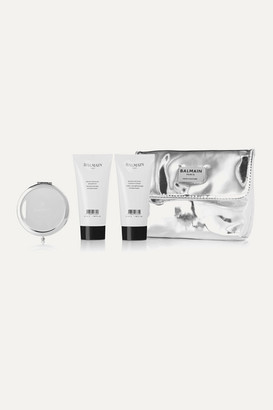 Couture Balmain Paris Hair Fall 2019 Gift Set - Silver