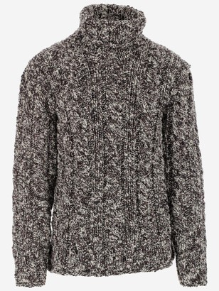 Dolce & Gabbana Turtleneck Cable-Knit Sweater