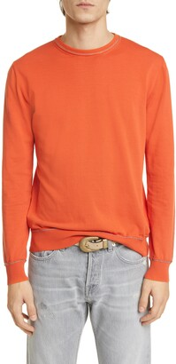 Eleventy Slim Fit Cotton Crewneck Sweater