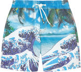Scotch & Soda Graphic swim shorts
