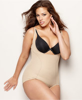 Maidenform Plus Size Firm Control Wear Your Own Bra Open Bust Body Shaper 12657