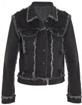 Christopher Kane Frayed denim jacket