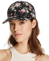 Aqua Floral Baseball Cap - 100% Exclusive