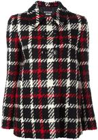 Moschino tweed short jacket - women - Polyamide/Acetate/Rayon/Wool - 42