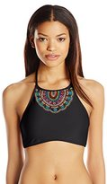 Hobie Women's A Stitch In Time Bikini Top