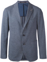 Tagliatore textured blazer - men - Cotton/Cupro - 48