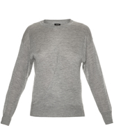 Isabel Marant Evans cashmere and silk-blend knit sweater
