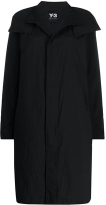 Y-3 Travel single-breasted coat