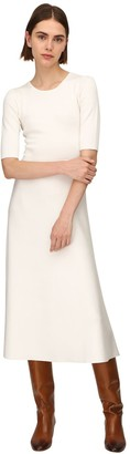 Gabriela Hearst Lvr Sustainable Wool Blend Knit Dress