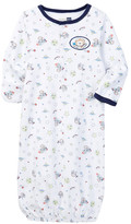 Vitamins Baby Space Monkey Gown (Baby Boys)