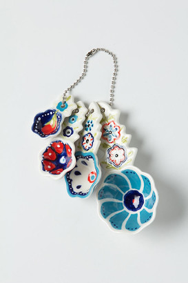 Anthropologie Handpainted Florie Measuring Spoons, Set of 4 By in Assorted