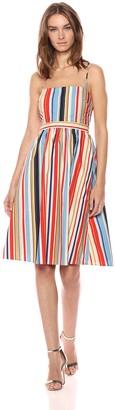 ASTR the Label Women's Shannon Casual FIT & Flare Cotton Sun Dress