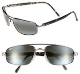 Maui Jim Men's 'Kahuna -Polarizedplus2' 59Mm Sunglasses - Gunmetal