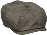 Stetson Men's Cashmere Silk Blend 8/4 Cap with Lining