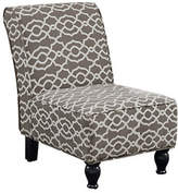 Monarch Bell Print Accent Chair