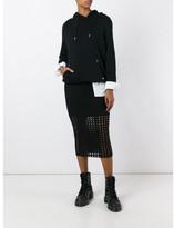 Alexander Wang circular hole skirt
