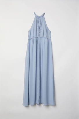 H&M H&M+ Long Dress - Blue