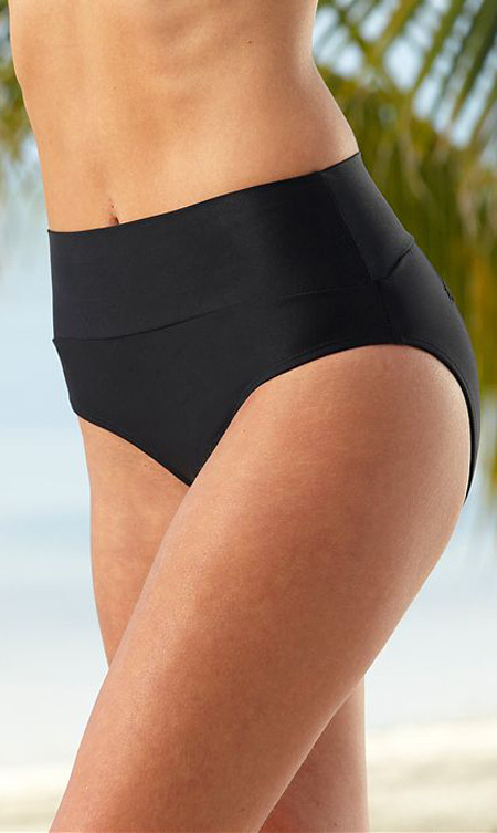 Hapari Swimwear Hapari Black Tummy Tuk Bottoms
