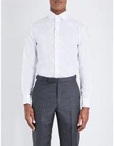 Armani Collezioni Modern-fit Cotton-twill Shirt
