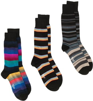 Paul Smith Mixed Pack Striped Socks