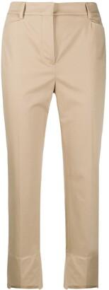 Incotex Cropped Step-Hem Trousers
