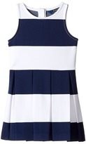 Polo Ralph Lauren Ponte-Stripe Dress Girl's Dress