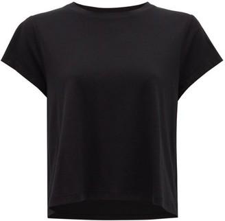 Vaara Nadia Cropped Jersey T-shirt - Black