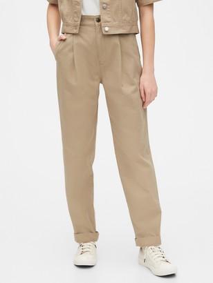 Gap Originals Pleated Khaki Pants