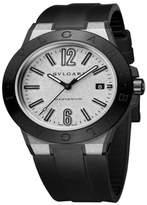 Bulgari Diagono Magnesium Automatic Date Mens Watch DG41C6SMCVD