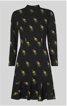 Whistles Woodpecker Print Dress