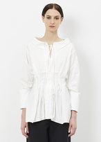 Jacquemus white la chemise arlesienne