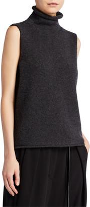 The Row Beriko Cashmere Sleeveless Sweater