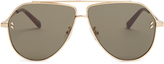 Stella McCartney Angular aviator sunglasses
