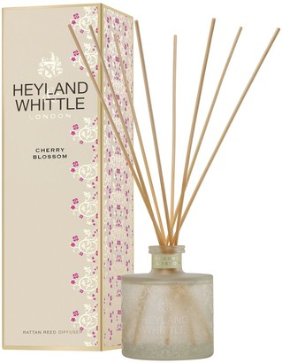 Heyland & Whittle Gold Classic Reed Diffuser - Cherry Blossom