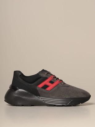 Hogan Sneakers Active One Bicolor Suede Sneakers