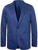 Paul Smith Blue Slim-Fit Cotton Suit Jacket
