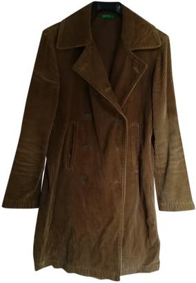 Benetton Brown Velvet Coats