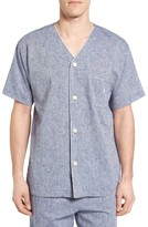 Polo Ralph Lauren Men's Linen & Cotton Pajama Shirt
