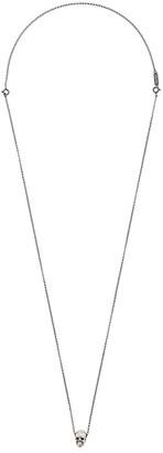 Ugo Cacciatori skull pendant necklace