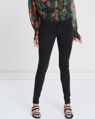 Scotch & Soda La Parisienne Low-Rise Skinny Fit Jeans