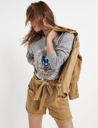 Paperbag Linen Short