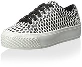 Loeffler Randall Women's Lace-Up Platform Sneaker